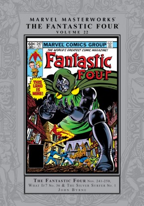 MARVEL MASTERWORKS FANTASTIC FOUR VOLUME 22 HARDCOVER