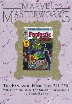 MARVEL MASTERWORKS FANTASTIC FOUR VOLUME 22 DM VARIANT #292 EDITION HARDCOVER