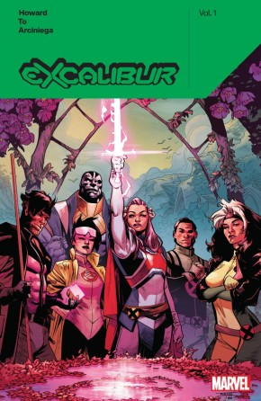 EXCALIBUR BY TINI HOWARD VOLUME 1 GRAPHIC NOVEL