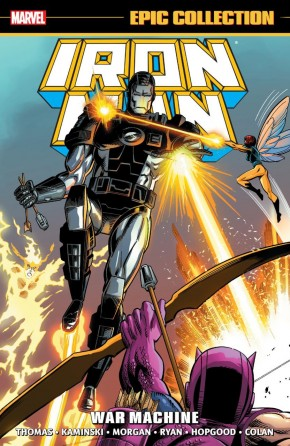 IRON MAN EPIC COLLECTION WAR MACHINE GRAPHIC NOVEL
