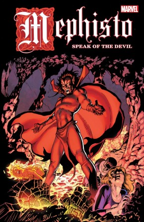 MEPHISTO SPEAK OF THE DEVIL GRAPHIC NOVEL