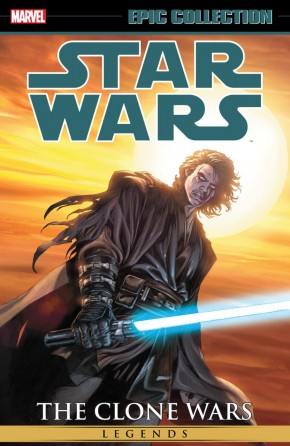 STAR WARS LEGENDS EPIC COLLECTION CLONE WARS VOLUME 3 GRAPHIC NOVEL