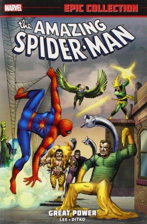 AMAZING SPIDER-MAN EPIC COLLECTION GREAT POWER GRAPHIC NOVEL *NOTE: MISSING PAGES 337-360*