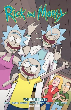 RICK AND MORTY VOLUME 11 GRAPHIC NOVEL