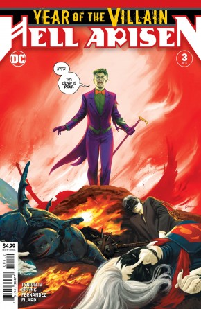 YEAR OF THE VILLAIN HELL ARISEN #3 2ND PRINTING