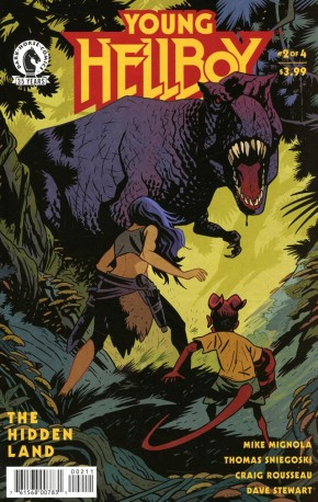 YOUNG HELLBOY THE HIDDEN LAND #2