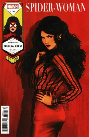 SPIDER-WOMAN #10 (2020 SERIES) BARTEL SPIDER-WOMAN WOMENS HISTORY MONTH VARIANT