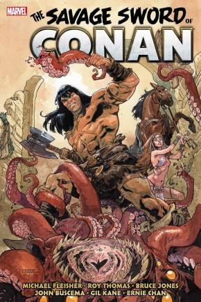 SAVAGE SWORD OF CONAN THE ORIGINAL MARVEL YEARS OMNIBUS VOLUME 5 HARDCOVER