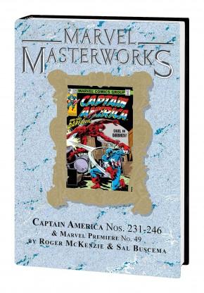 MARVEL MASTERWORKS CAPTAIN AMERICA VOLUME 13 DM VARIANT #309 EDITION HARDCOVER