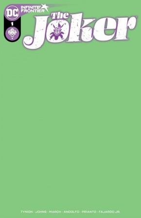 JOKER #1 (2021 SERIES) BLANK VARIANT