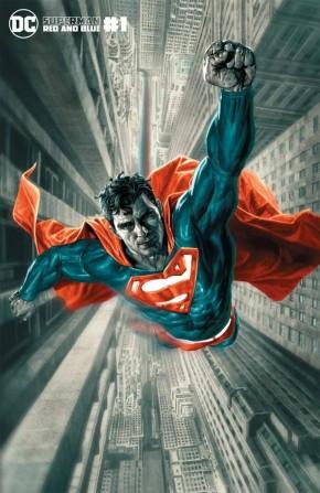 SUPERMAN RED AND BLUE #1 LEE BERMEJO VARIANT