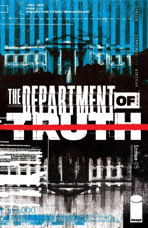 DEPARTMENT OF TRUTH #5 2ND PRINTING