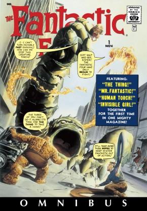FANTASTIC FOUR OMNIBUS VOLUME 1 DM VARIANT COVER HARDCOVER