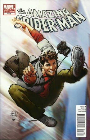 AMAZING SPIDER-MAN #643 (1999 SERIES) PHIL JIMENEZ 1 IN 20 INCENTIVE