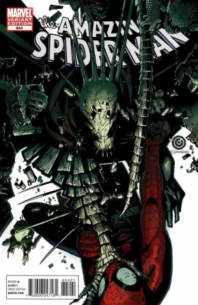 AMAZING SPIDER-MAN #644 (1999 SERIES) BACHALO 1 IN 20 INCENTIVE