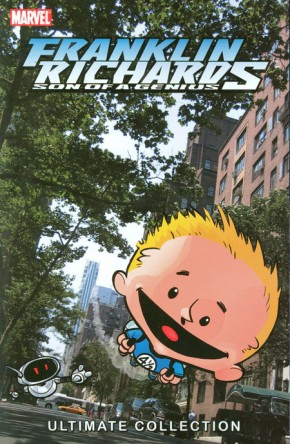 Franklin Richards Son of a Genius Ultimate Collection Book 1 Graphic Novel