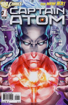 CAPTAIN ATOM #1 (2011 SERIES)
