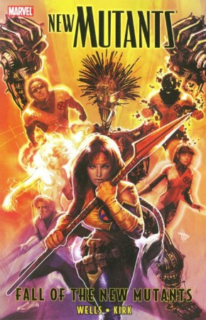 NEW MUTANTS VOLUME 3 FALL OF THE NEW MUTANTS GRAPHIC NOVEL