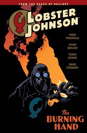 LOBSTER JOHNSON VOLUME 2 THE BURNING HAND GRAPHIC NOVEL