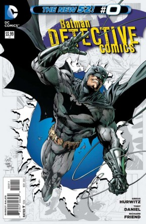 DETECTIVE COMICS #0 (2011 SERIES)