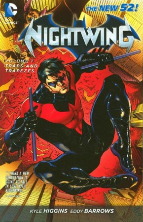 NIGHTWING VOLUME 1 TRAPS AND TRAPEZES GRAPHIC NOVEL