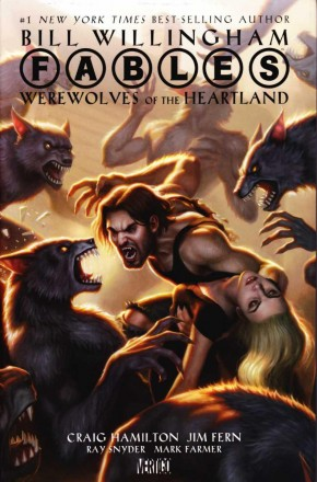 FABLES WEREWOLVES OF THE HEARTLAND HARDCOVER