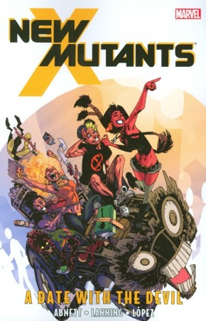 NEW MUTANTS VOLUME 5 A DATE WITH THE DEVIL GRAPHIC NOVEL