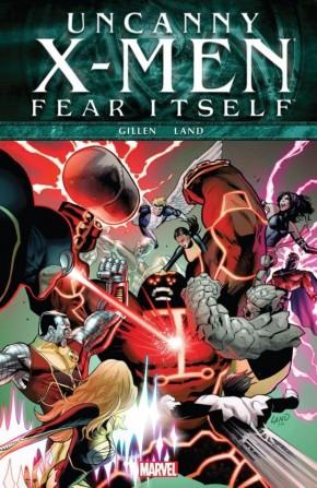 FEAR ITSELF UNCANNY X-MEN GRAPHIC NOVEL