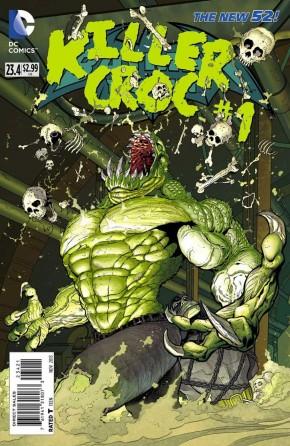 BATMAN AND ROBIN #23.4 KILLER CROC (STANDARD EDITION)