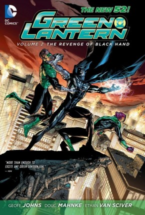 GREEN LANTERN VOLUME 2 REVENGE OF THE BLACK HAND GRAPHIC NOVEL