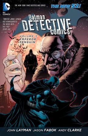 BATMAN DETECTIVE COMICS VOLUME 3 EMPEROR PENGUIN HARDCOVER