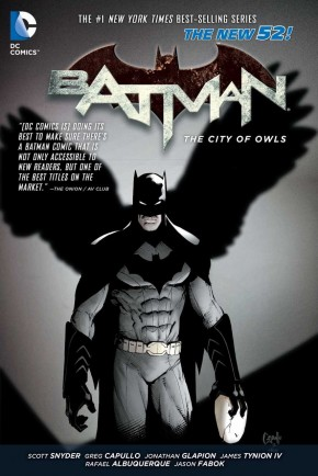 BATMAN VOLUME 2 THE CITY OF OWLS GRAPHIC NOVEL