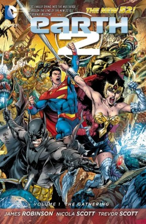 EARTH 2 VOLUME 1 THE GATHERING GRAPHIC NOVEL