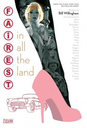 FAIREST IN ALL THE LAND HARDCOVER