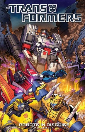 TRANSFORMERS ROBOTS IN DISGUISE VOLUME 4 GRAPHIC NOVEL