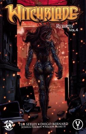WITCHBLADE REBIRTH VOLUME 4 GRAPHIC NOVEL