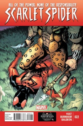 SCARLET SPIDER #22 (2012 SERIES)