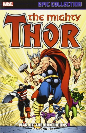 THOR EPIC COLLECTION WAR OF THE PANTHEONS GRAPHIC NOVEL