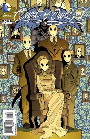 BATMAN AND ROBIN #23.2 COURT OF OWLS (STANDARD EDITION)