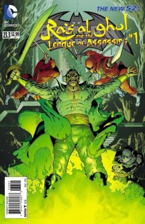 BATMAN AND ROBIN #23.3 RAS AL GHUL (STANDARD EDITION)
