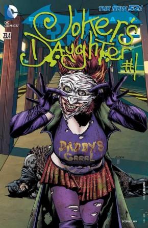 BATMAN THE DARK KNIGHT #23.4 (2011 SERIES) JOKERS DAUGHTER STANDARD COVER