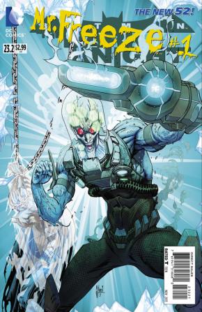 BATMAN THE DARK KNIGHT #23.2 (2011 SERIES) MR FREEZE STANDARD COVER