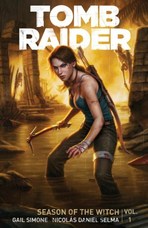 TOMB RAIDER VOLUME 1 SEASON OF THE WITCH GRAPHIC NOVEL