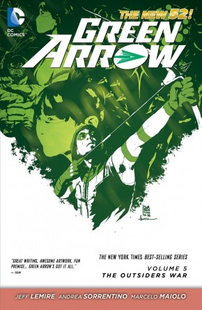 GREEN ARROW VOLUME 5 OUTSIDERS WAR GRAPHIC NOVEL