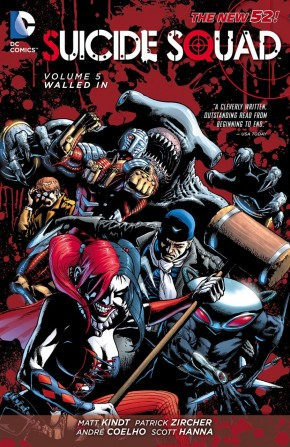 SUICIDE SQUAD VOLUME 5 WALLED IN GRAPHIC NOVEL
