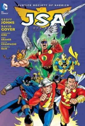 JSA JUSTICE SOCIETY OF AMERICA OMNIBUS VOLUME 2 HARDCOVER
