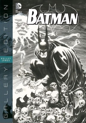 BATMAN KELLEY JONES GALLERY EDITION HARDCOVER