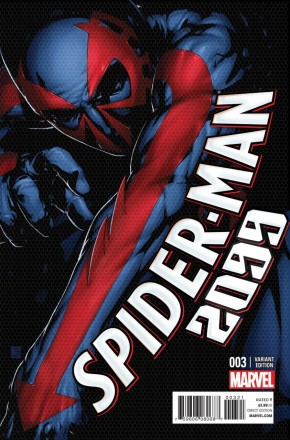 SPIDER-MAN 2099 #3 (2014 SERIES) 1 IN 25 CHRISTOPHER INCENTIVE