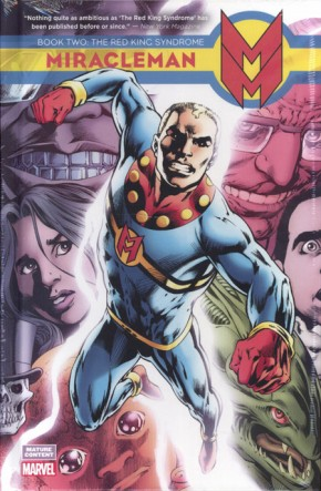 MIRACLEMAN BOOK 2 THE RED KING SYNDROME HARDCOVER DM VARIANT