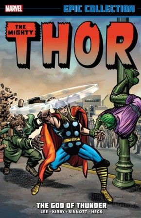 THOR EPIC COLLECTION GOD OF THUNDER GRAPHIC NOVEL
